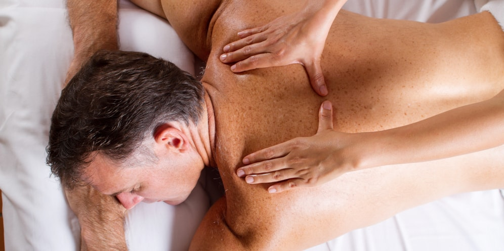 Back and Shoulder massage for Sleep Massage
