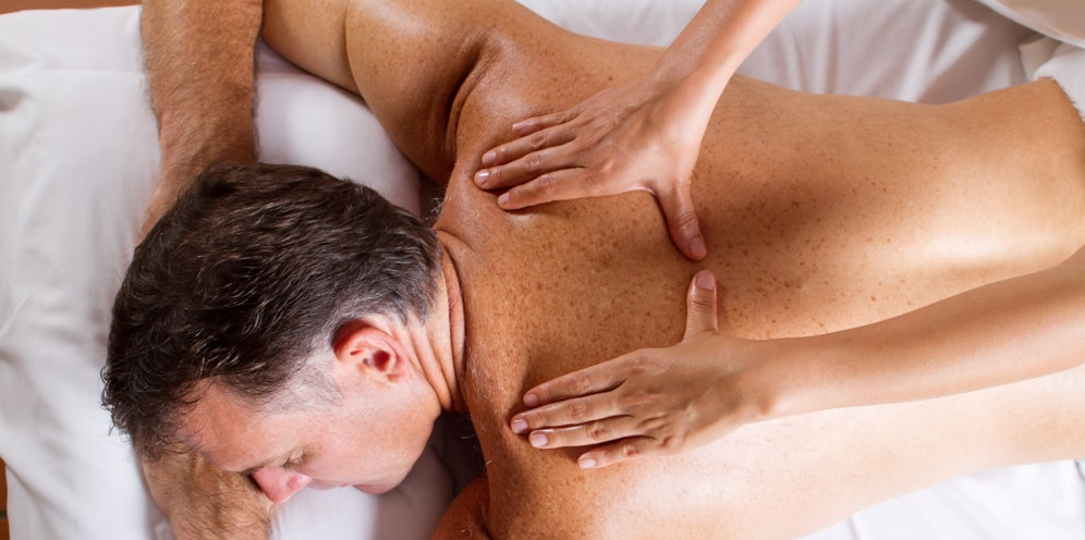 Effleurage in Swedish massage