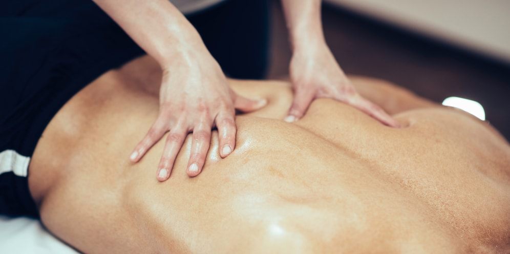 Muscle stripping for sports massage