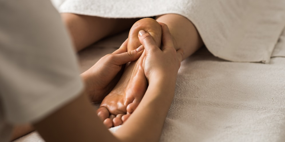 Reflexology for Sleep Massage