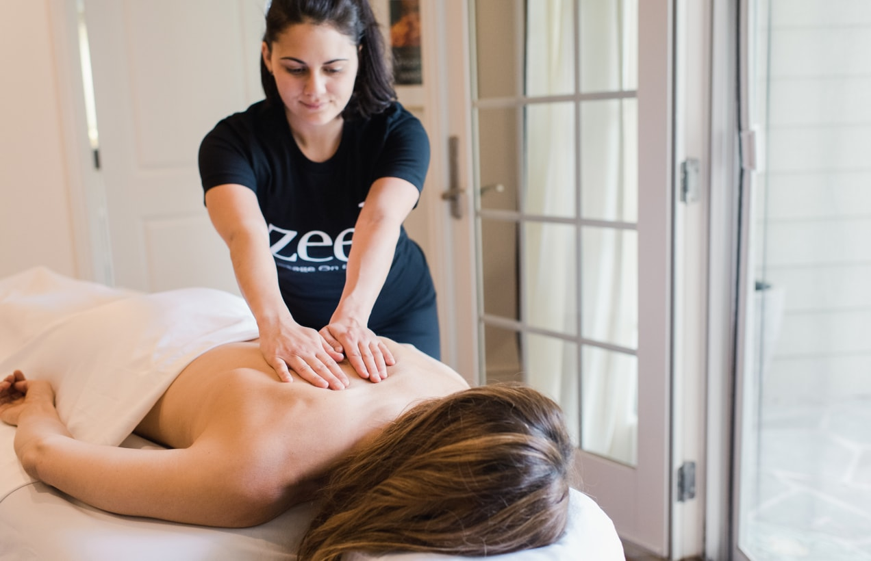 Swedish Massage with Zeel