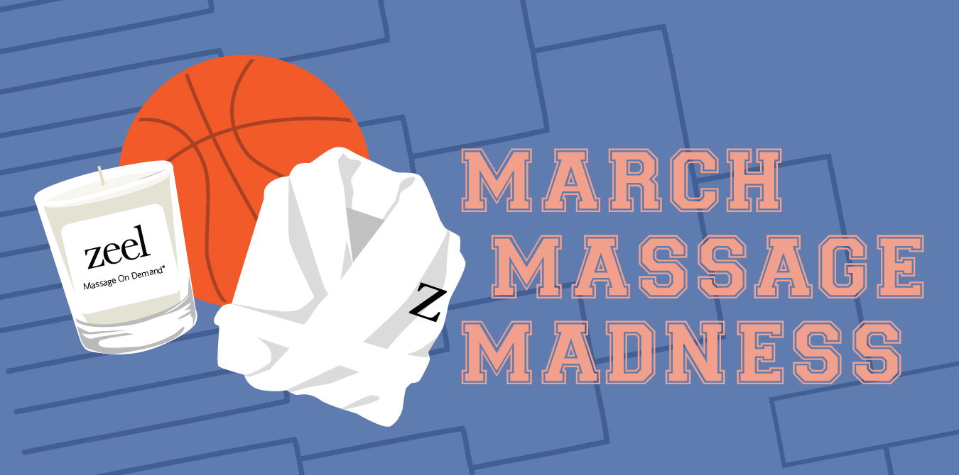 March Massage Madness from Zeel includes comfy robes, a Diptyque candle, and the ultimate prize pack for relaxation!