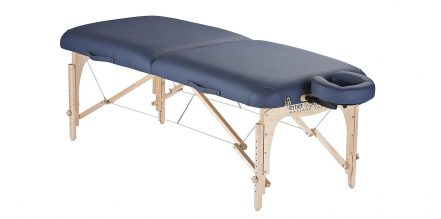 Foldable massage tables make moving easy and stress-free.