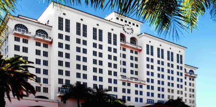 The Hyatt Regency in Coral Gables is a beautiful location for a luxury Zeel massage.