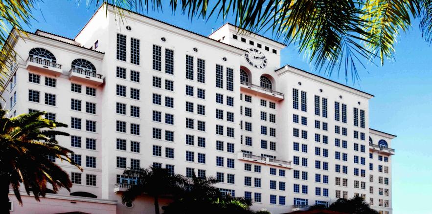 The Hyatt Regency in Coral Gables is a beautiful location for a luxury Zeel massage.