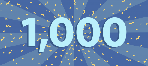 Celebrating A Milestone: 1,000 Massages!