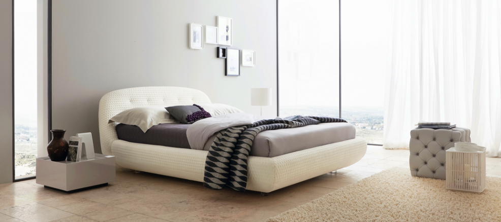 Chic, clean, modern bedroom sets a great example for how to make your room a great Airbnb home.