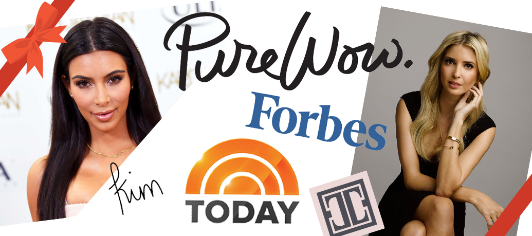 Kim Kardashian, Ivanka Trump, Today Show, Forbes and more all vote massage as a top gift this holiday season!