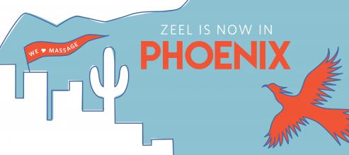 Zeel is now in Phoenix, Arizona