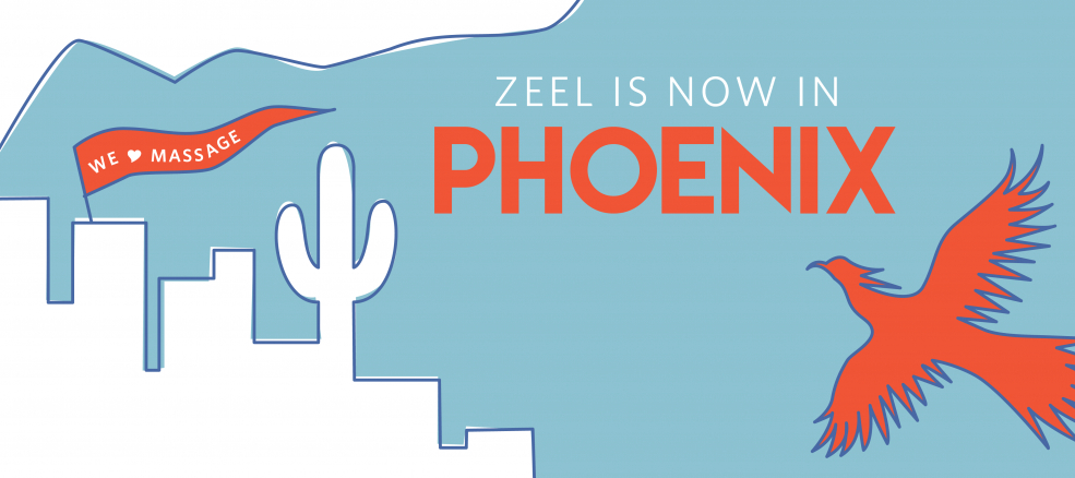 Zeel is now in Phoenix, Arizona