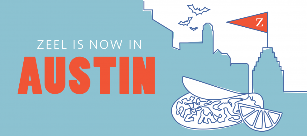 Zeel is now in Austin, Texas