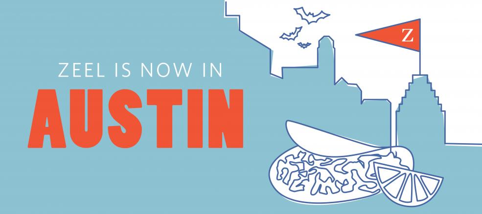 Zeel is now in Austin, Texas