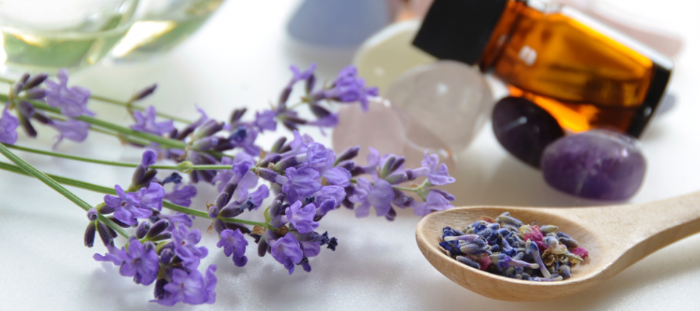 Lavender makes for a soothing, relaxing aroma- the perfect addition to any handmade massage oil.