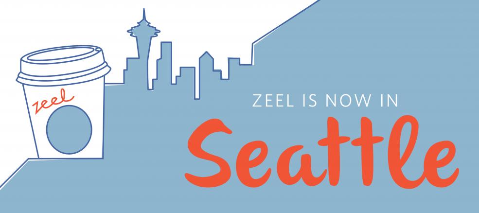 Zeel is now in Seattle, Washington.