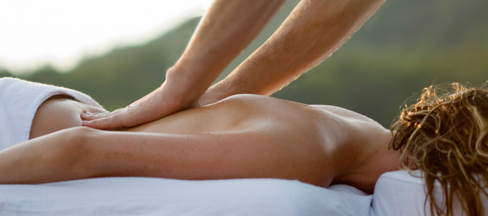 Breathe in the fresh air during a relaxing outdoor massage with Zeel.