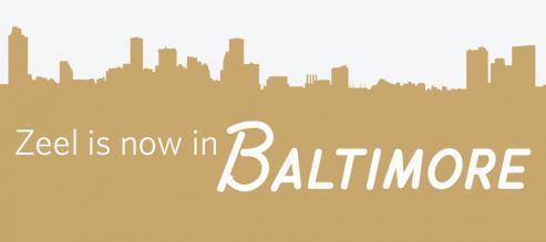 Zeel is now in Baltimore, Maryland