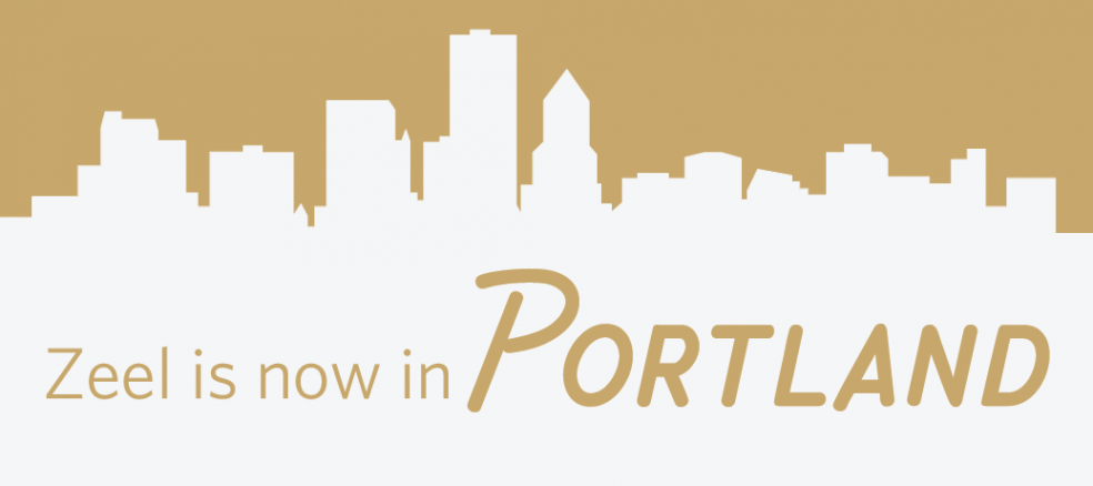 Zeel is now in Portland, Oregon