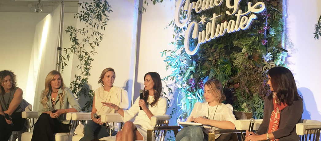 Zeel CMO Cynthia Irons is joined by fellow girl bosses on a panel at Create & Cultivate conference in Atlanta, Georgia.