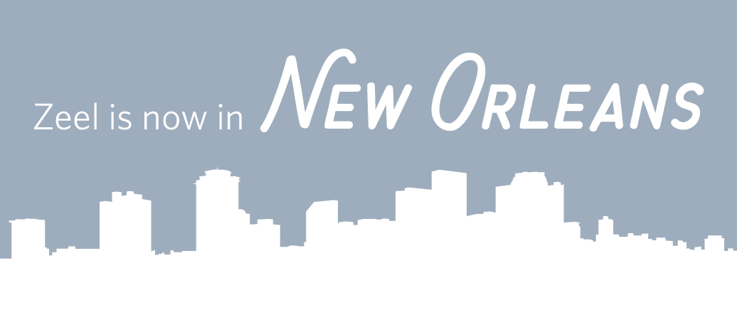 Zeel is now in New Orleans