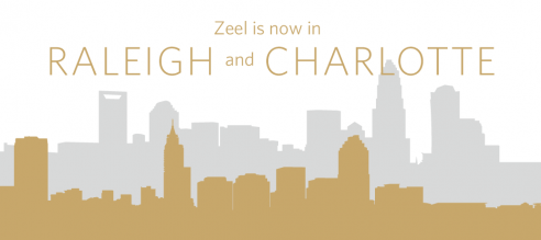 Zeel is now in Raleigh and Charlotte, North Carolina.