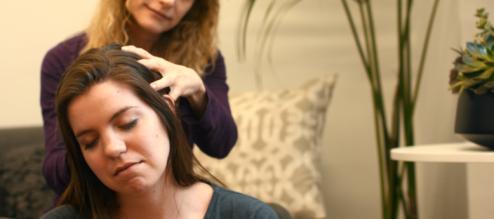 how to do a DIY scalp massage from Zeel