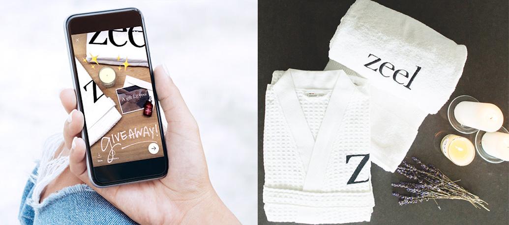 Zeel Massage Instagram Giveaway