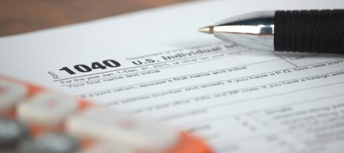 1040 IRS tax form
