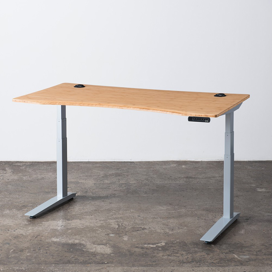 Jarvis Bamboo Height Adjustable Standing Desk