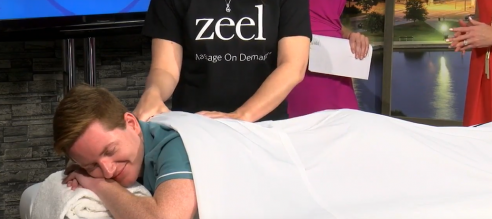 Zeel Massage Launches in Charleston with Fox 24