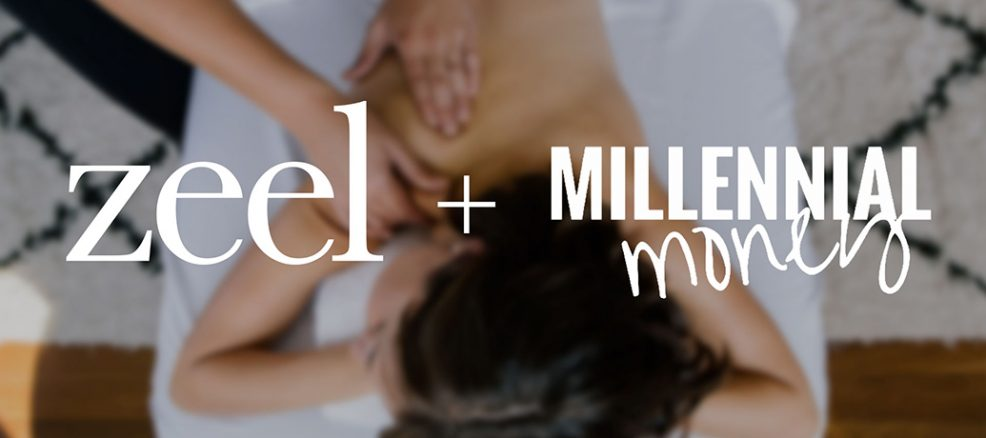 Shannah Game Millennial Money podcast features Zeel Massage as one of the best apps for music festival season