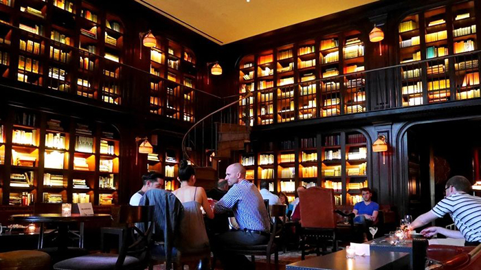 NoMad Hotel Library Cafe