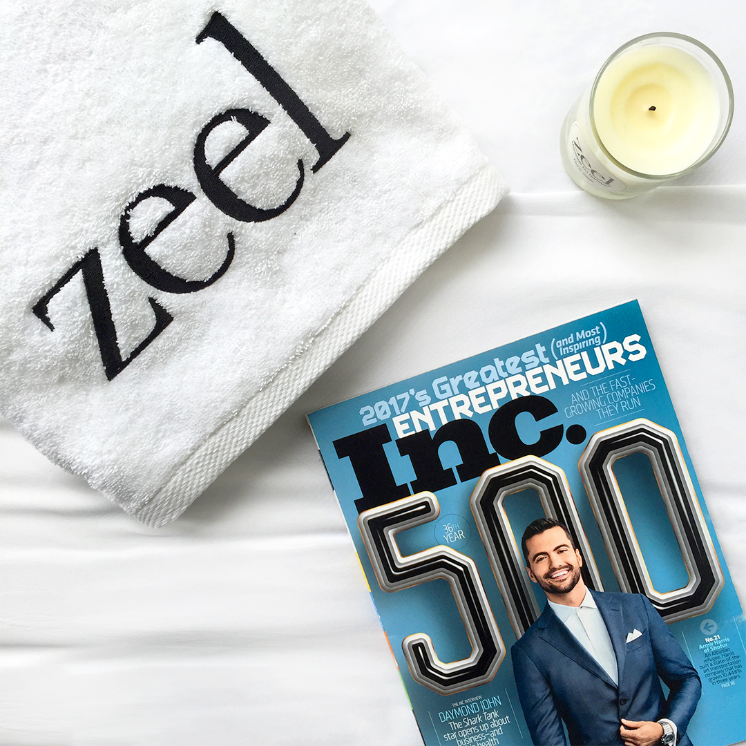 Inc. 500 Names Zeel Number 167 out of the Fastest Growing Companies in the US