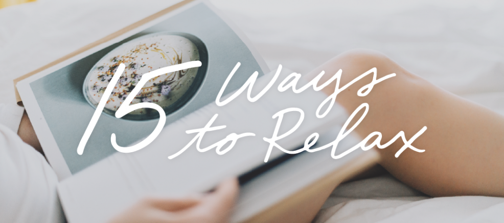 15 Ways to Relax on National Relaxation Day