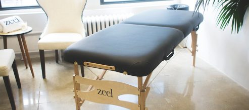 Zeel Massage Table now available on Amazon
