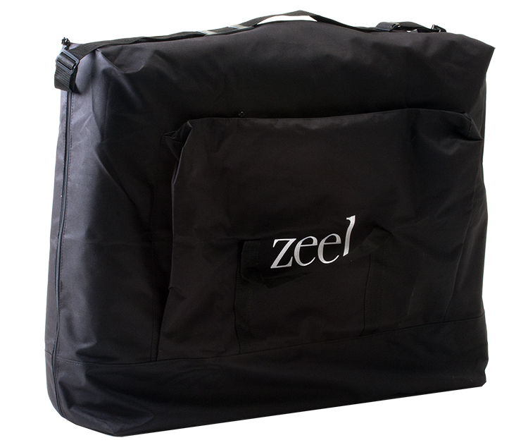 Zeel Massage Table black nylon carrying case