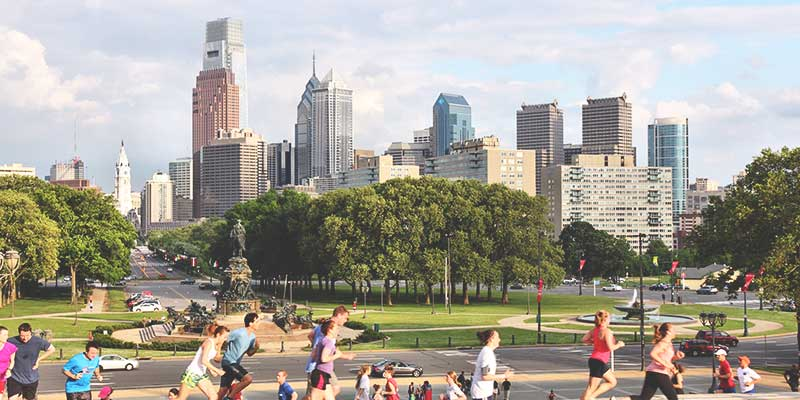 America's most walkable cities - Philly