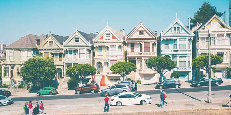 San Francisco - one of the most walkable or hikeable cities in the US