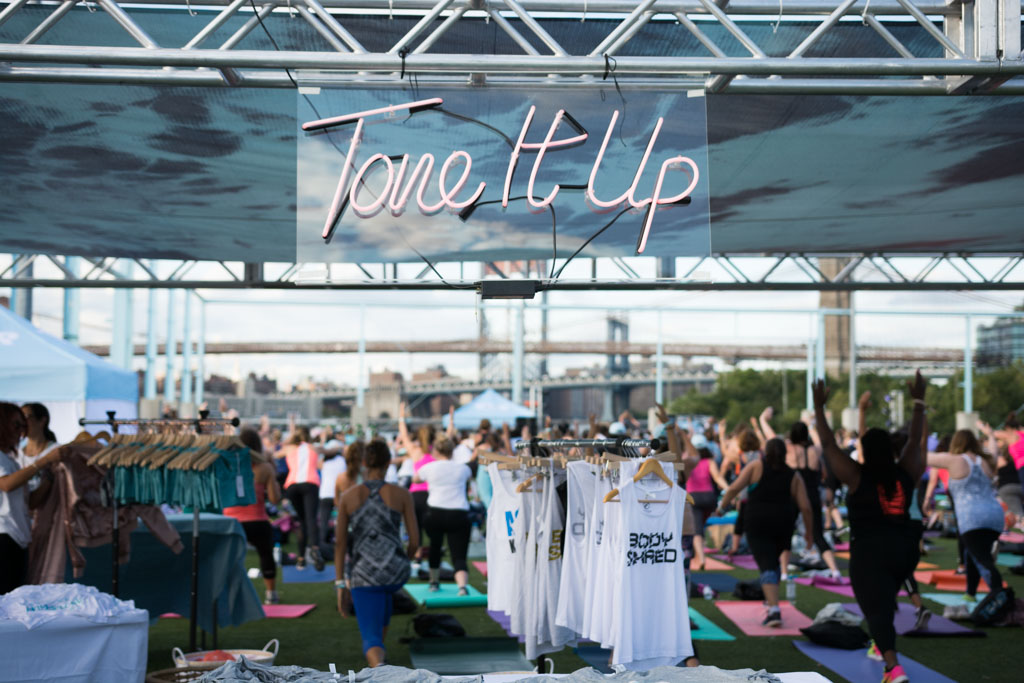 Tone It Up Swag at the TIU Tour