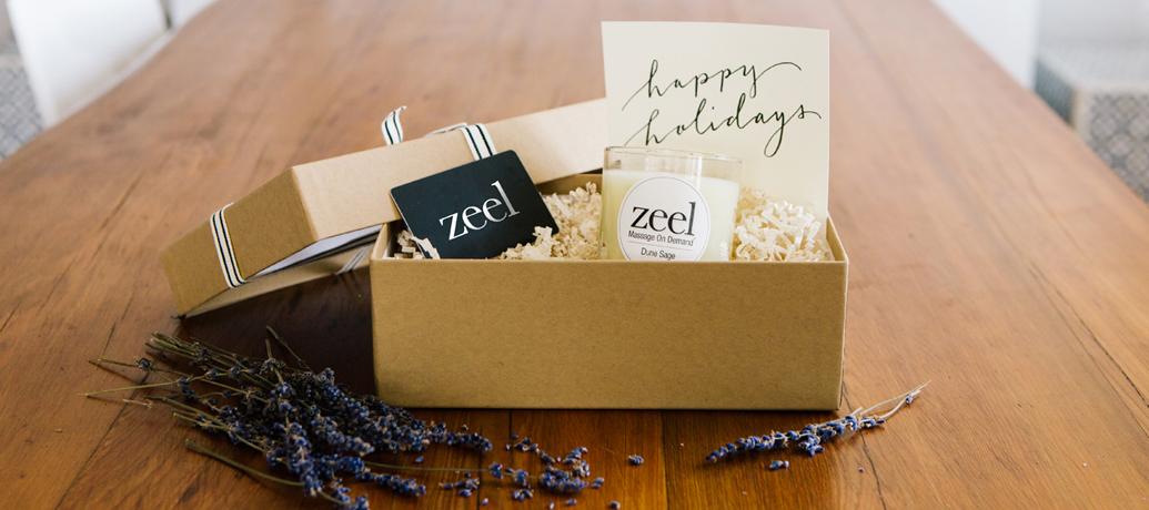 Gift box from Zeel