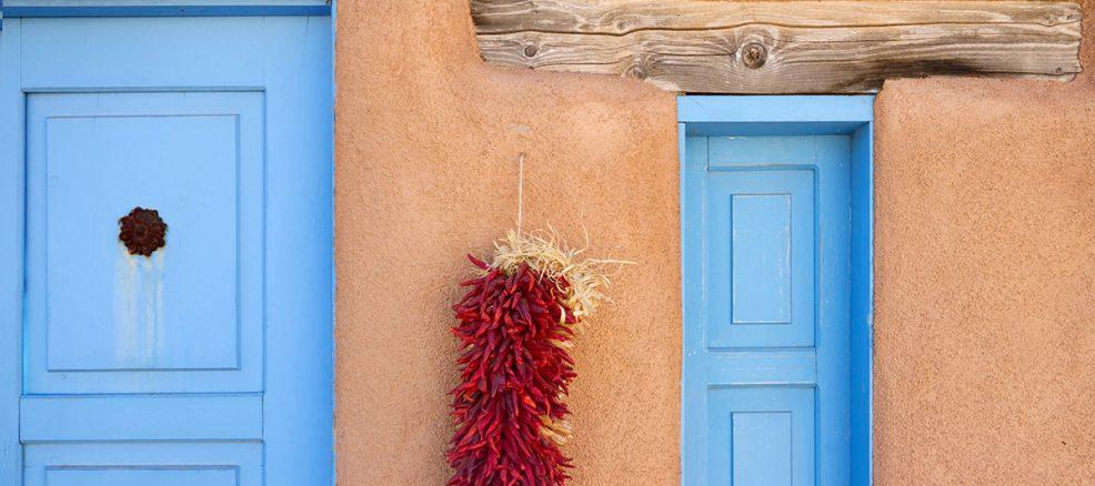 Santa Fe adobe house