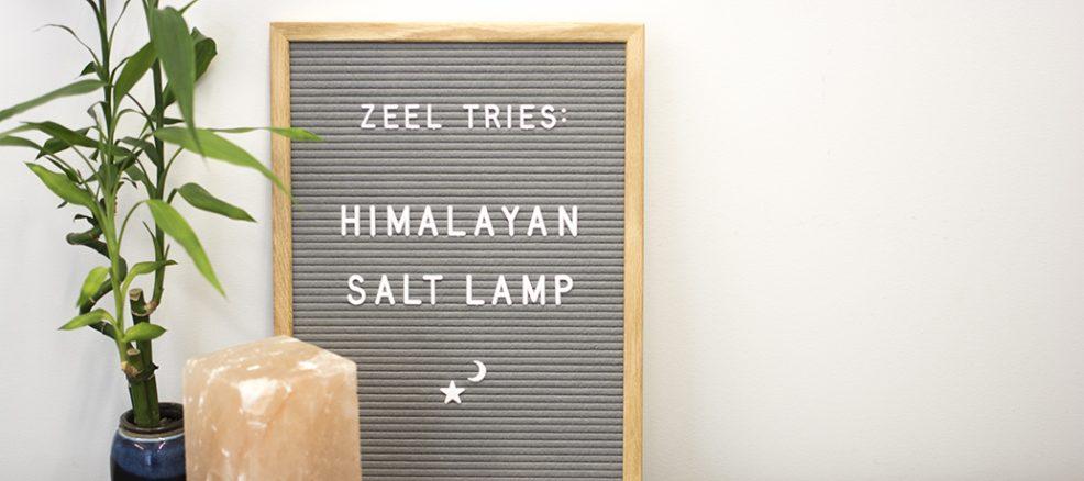 Himalayan Salt Lamp Experiment
