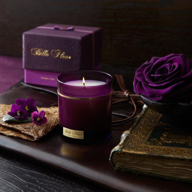 Zeel Holiday Wellness Gift Guide Belle Fleur Candle