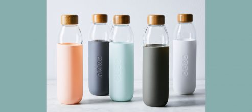Corporate Wellness Gifts For Co-Workers And Employees Food52 Soma Glass Water Bottle