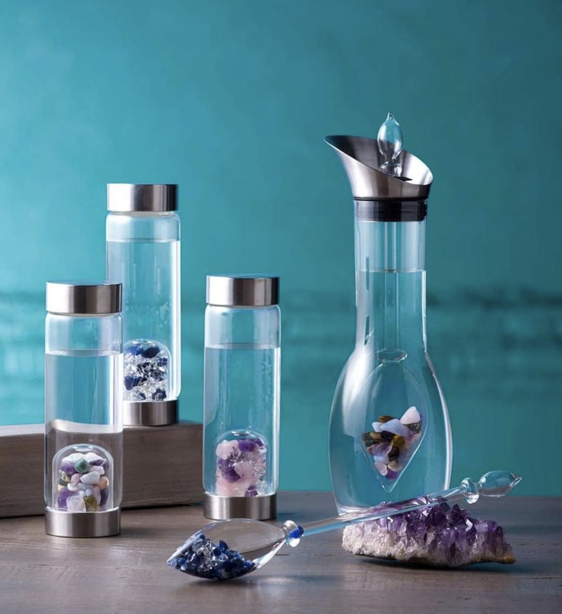 Zeel Holiday Wellness Gift Guide Gem-Water VitaJuwel