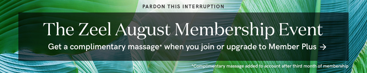 Get a free massage when you join or upgrade to Member Plus